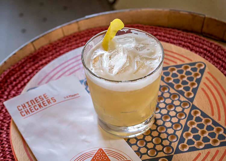 Morgenthaler Amaretto Sour