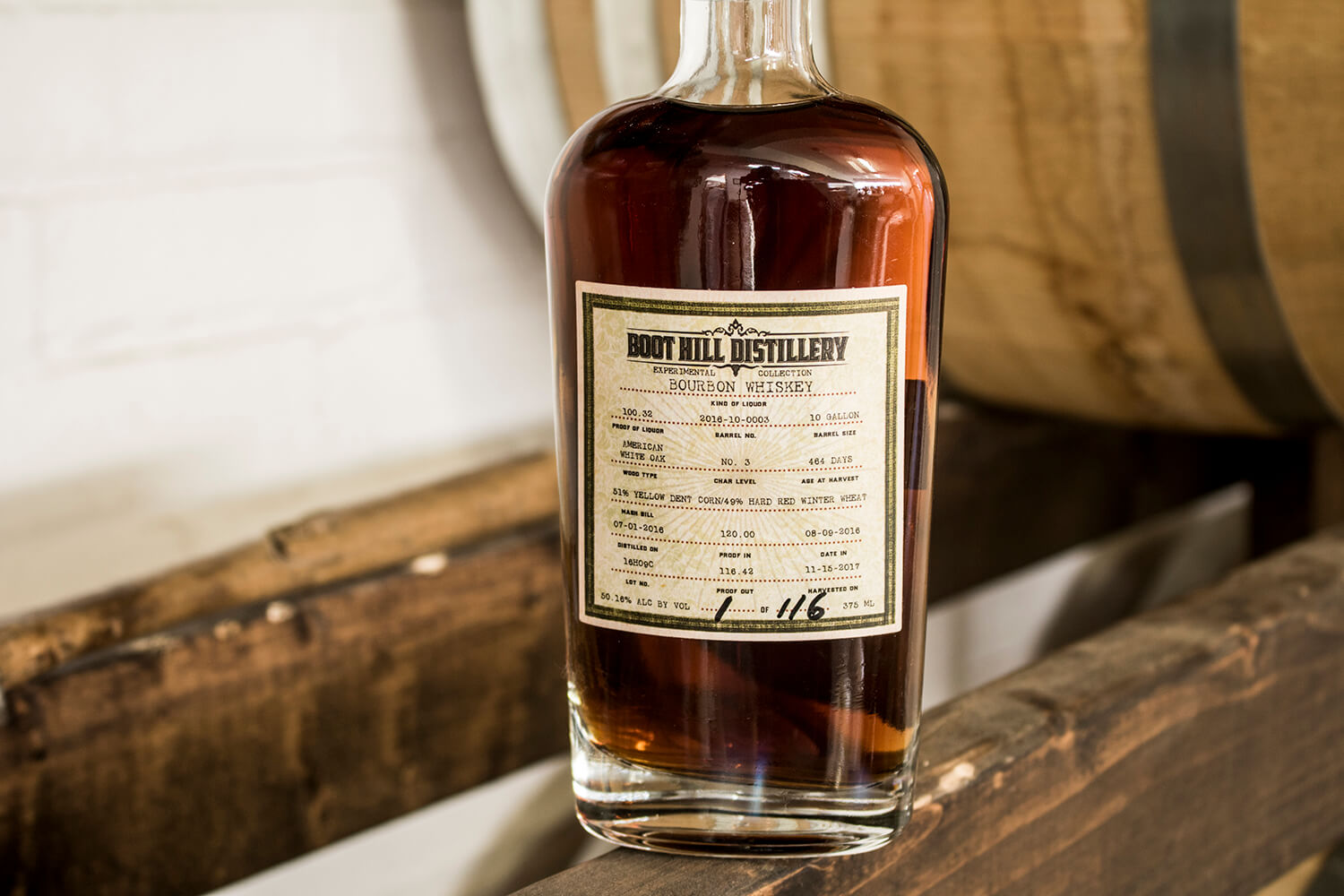 Boot Hill Distillery Experimental Collection 001