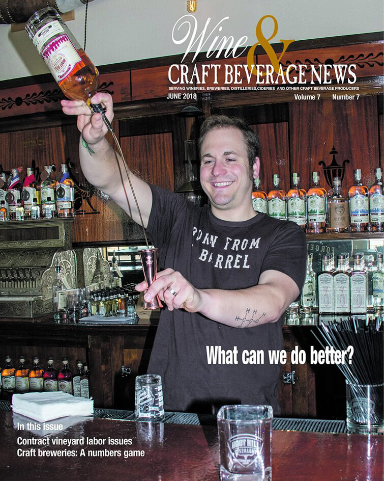 Wine and Craft Beverage News June 2018
