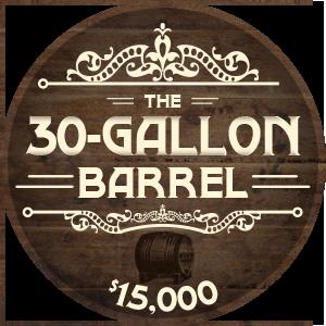 30 Gallon Cask