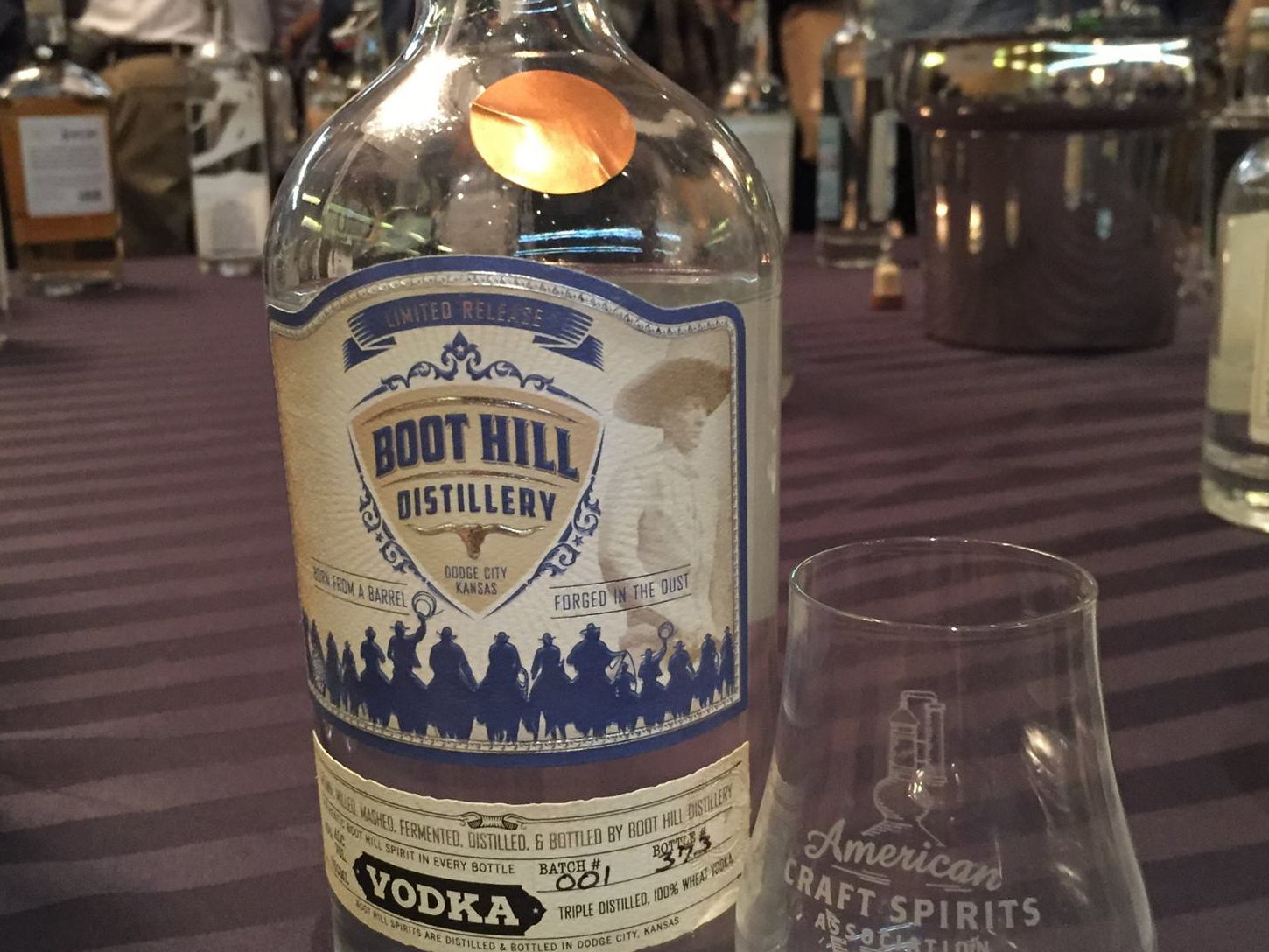 Boot Hill Distillery Vodka Bronze