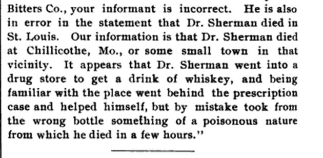 Dr. Sherman Meyer Brothers Druggist Volume 22