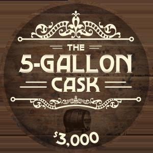 5 Gallon Cask