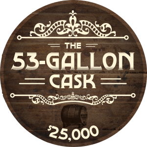 53 Gallon Cask